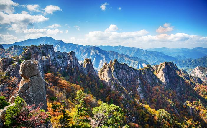 «Танпхун» в горах Сораксан