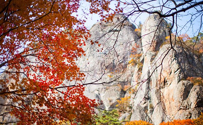 Пейзажи гор Чувансан