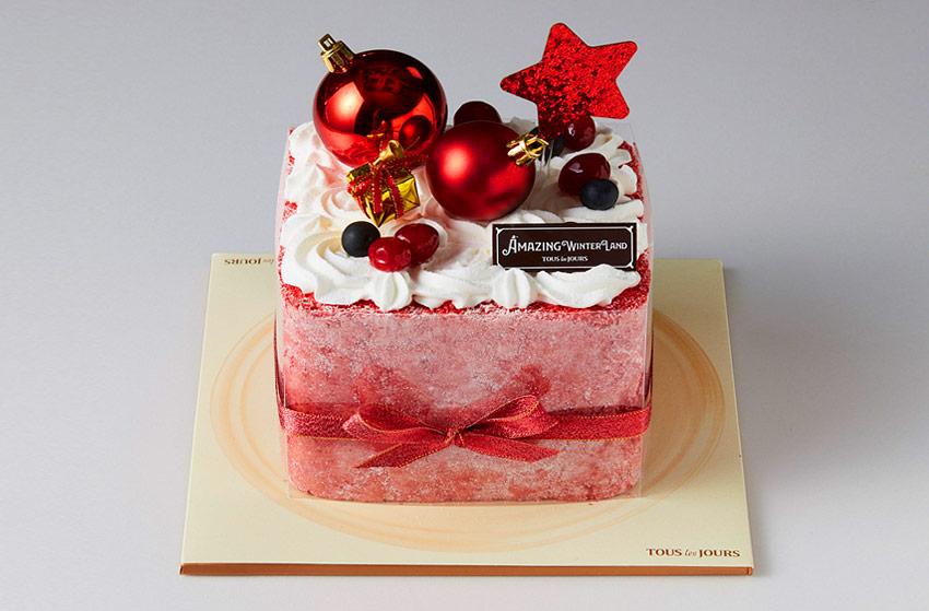 聖誕蛋糕(圖片來源:Tous Les Jours(上圖)、PARIS BAGUETTE(下圖))
