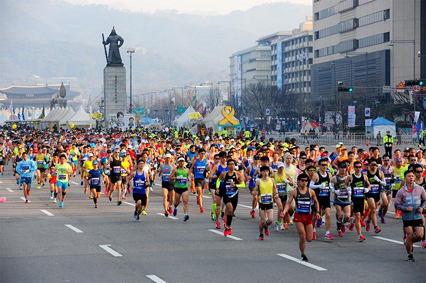 Сеульский международный марафон (Источник: Сеульский марафон)