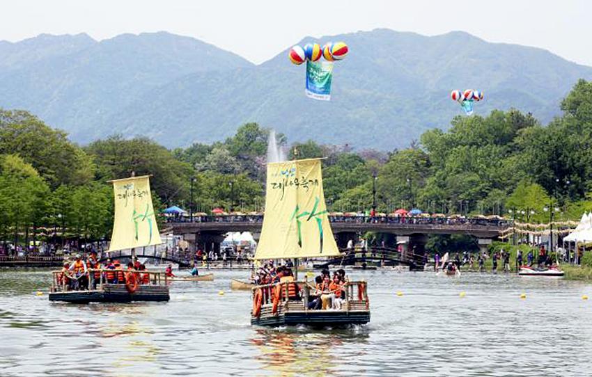 Фестиваль бамбука в Тамяне (Источник: Оргкомитет фестиваля бамбука).