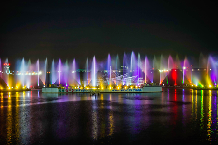 Photo: Dancing Sea Fountain