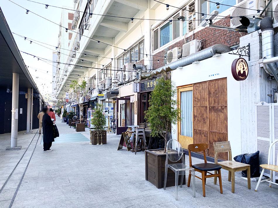 「大林商店街(テムサンガ)」3階通路