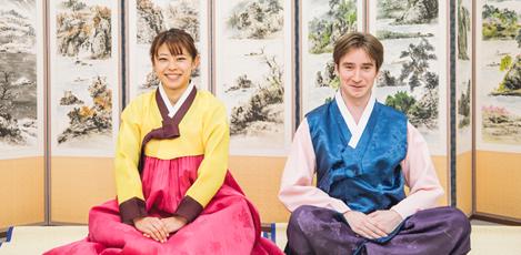 """迎春节!""""一起来学习韩国文化吧!"""""""