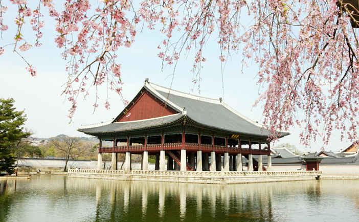 Vue du palais Gyeongbokgung
