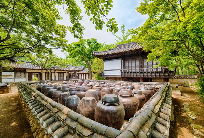 Village folklorique de Corée