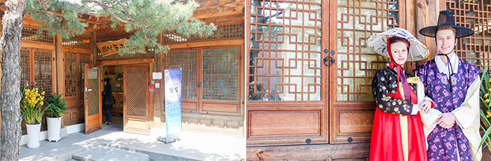 Photo: Insa-dong PR Center is perfect for taking souvenir photos
