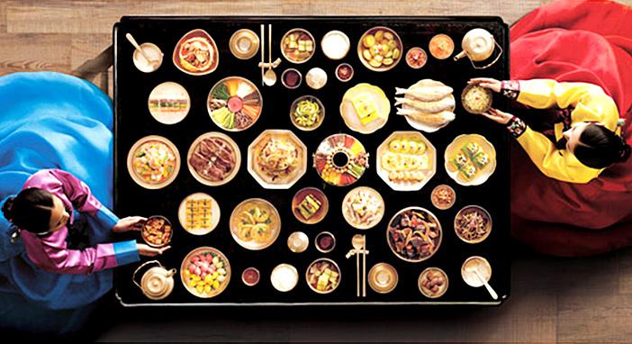 伝統的な韓国料理