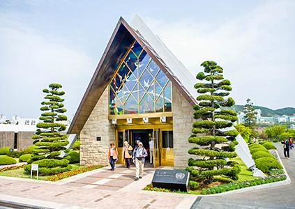 在韓UN紀念公園追慕館