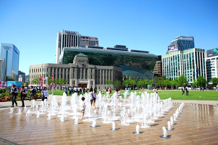 照片) 首尔广场