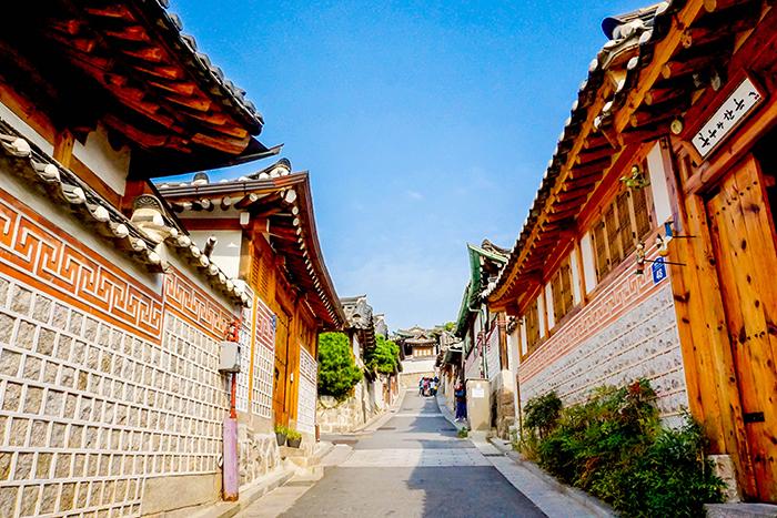 北村韓屋村の風景