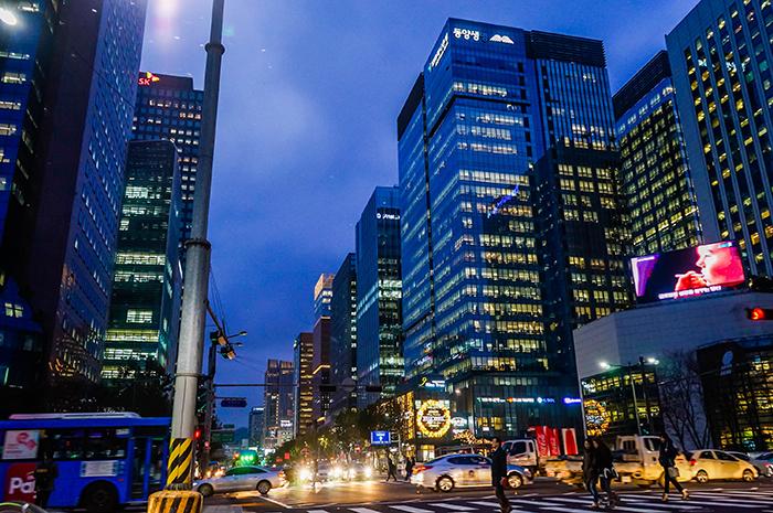 Fotos) Nachtansicht in Jongno