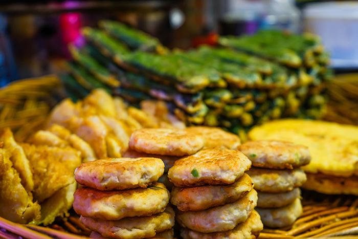 通仁市場の惣菜