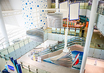 Photo: National Maritime Museum interior