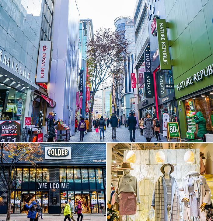 圖片) 購物中心,明洞