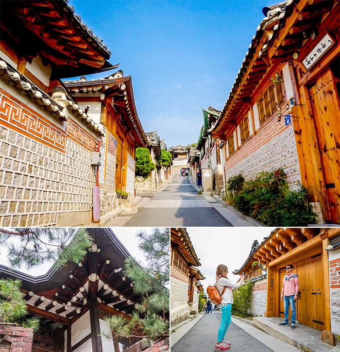 圖片) 在北村韓屋村看到的風景