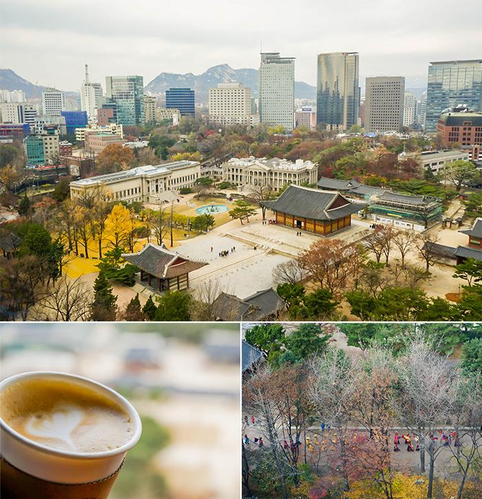 圖片) 在貞洞觀景臺上俯瞰首爾風景