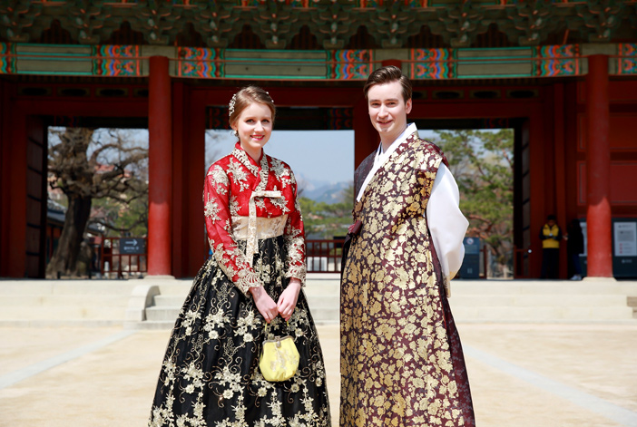 Entrée du palais Changdeokgung