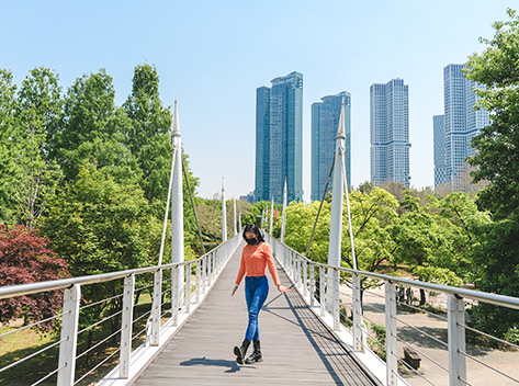 首爾林步行眺望橋