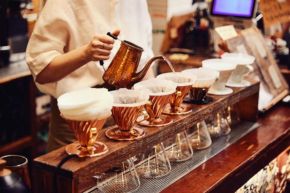 コーヒー韓薬房のハンドドリップコーヒー