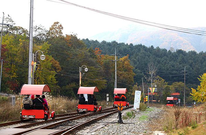 Gangchon Rail Park