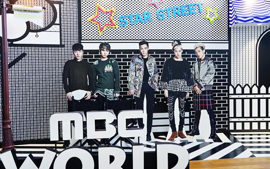 可以與BIGBANG人形立合照的「Star Street」拍照區