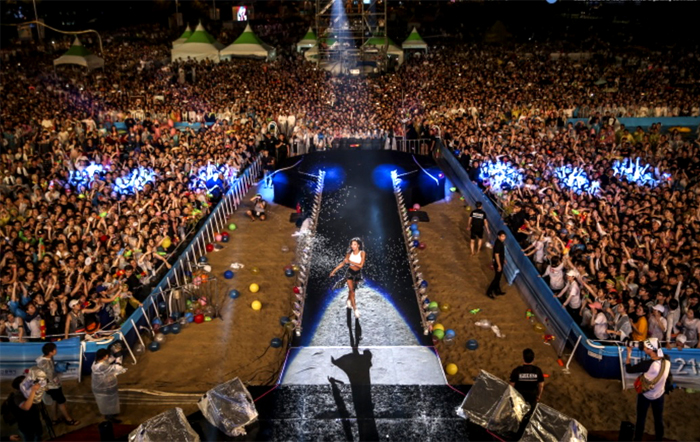 Busan Sea Festival concert (Credit: Busan Cultural Tourism Festival Promotion Committee)