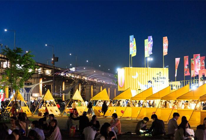首爾盤浦夜貓子夜市(圖片來源:首爾市)