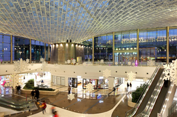 Main entrance to COEX Mall