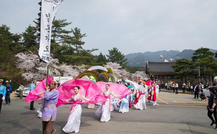 霊岩王仁文化祭り (写真提供:霊岩王仁文化祭り推進委員会)