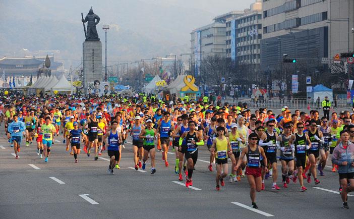 ソウル国際マラソン大会(写真提供:ソウル国際マラソン大会事務局)