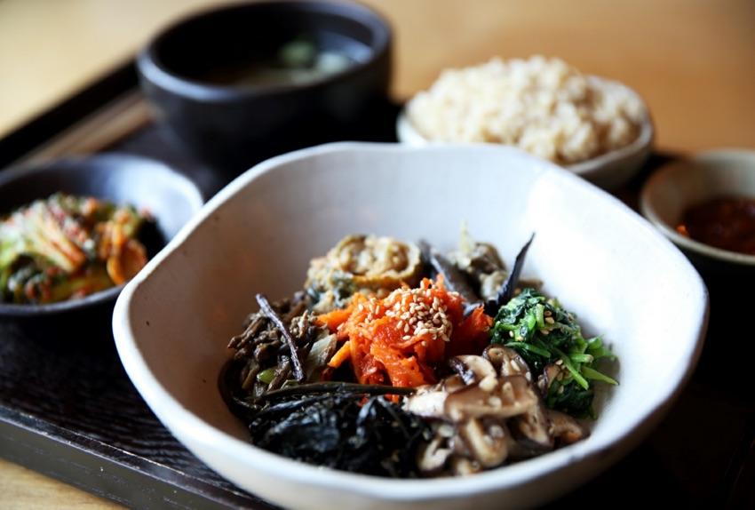 山菜石鍋拌飯套餐
