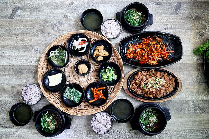 田螺蔬菜包饭