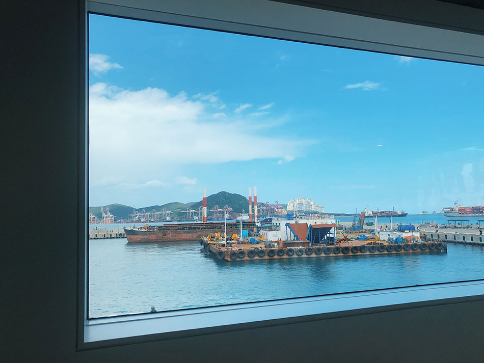 View of Yeongdo Harbour (Credit: Cayly Warner)