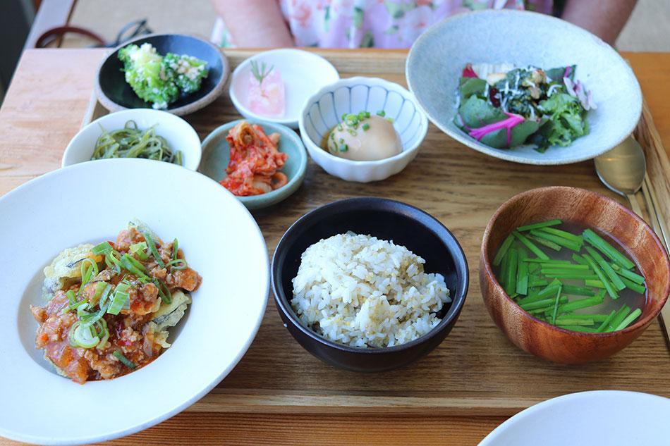 Korean brunch set (Credit: Cayly Warner)