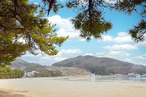 Sangju Silver Sand Beach