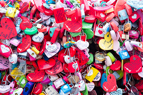 Love Locks at Namsan Seoul Tower