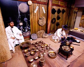 ソウル歴史博物館の展示室