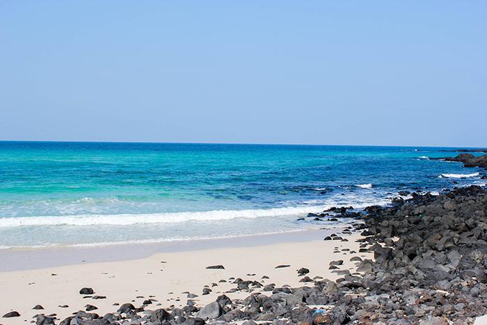 Crédits) Une belle plage de Jeju