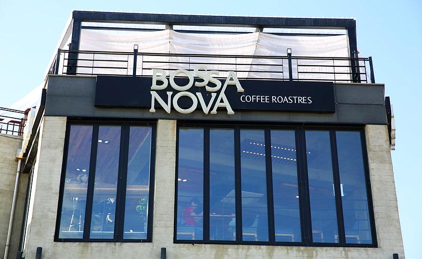 Exterior de la cafetería Bossa Nova