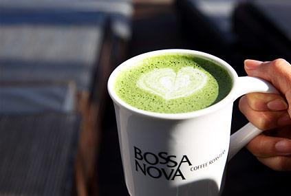 Menú principal de la cafetería Bossa