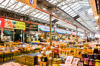照片 : 济州东门传统市场