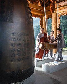 Photo : Templestay programs (Credit : Cultural Corps of Korean Buddhism)