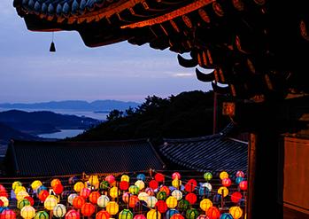 美黄寺(写真提供:韓国仏教文化事業団)