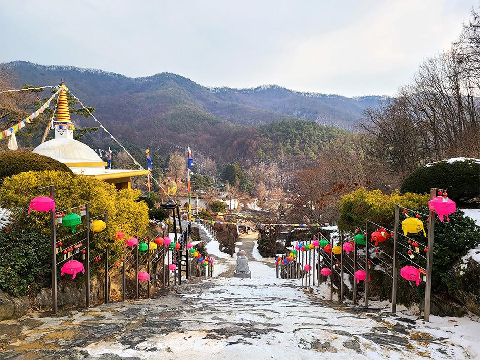 Wawoojeongsa Temple (Credit: Be Marie Korea)
