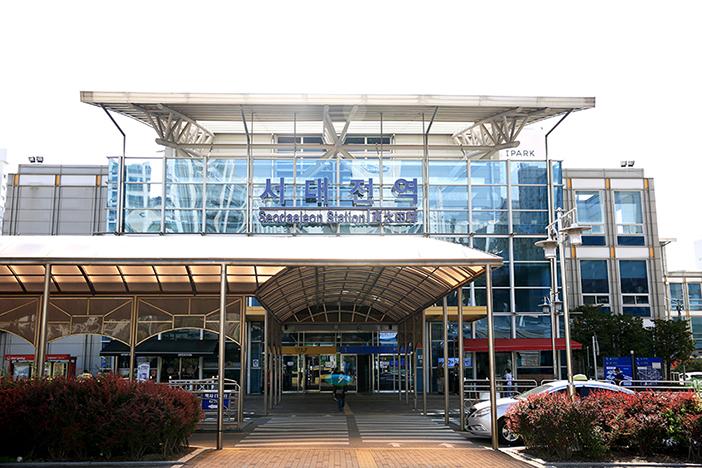 KORAIL湖南線・西大田駅
