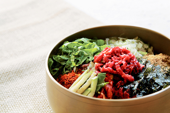 Photo: Yukhoe-bibimbap