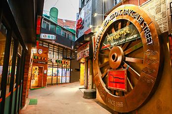 Photo: Chuncheon Myeongdong Dakgalbi Street