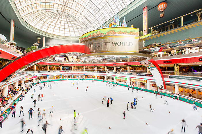 Patinoire de Lotte World (aut. Lotte World)