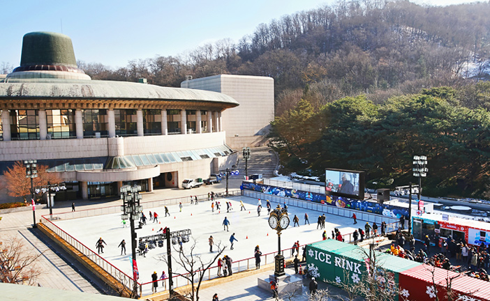 Scenery of Seoul Arts Center Ice Dream (Credit: Seoul Arts Center)